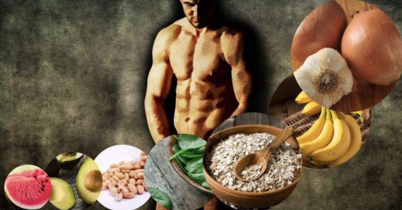 What foods enhance male potency?