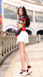 Super busty escort in Abu Dhabi: Angela (168 cm, 28 kg)